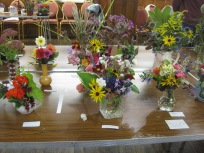 Vases of Mixed Flowers