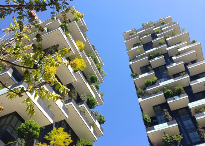 Milan flat vertical forest