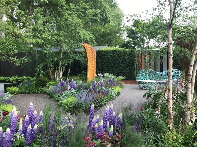 Chelsea 2018 calm garden